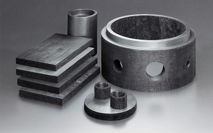 KUREHA Carbon Fiber KRECA FR Shapes