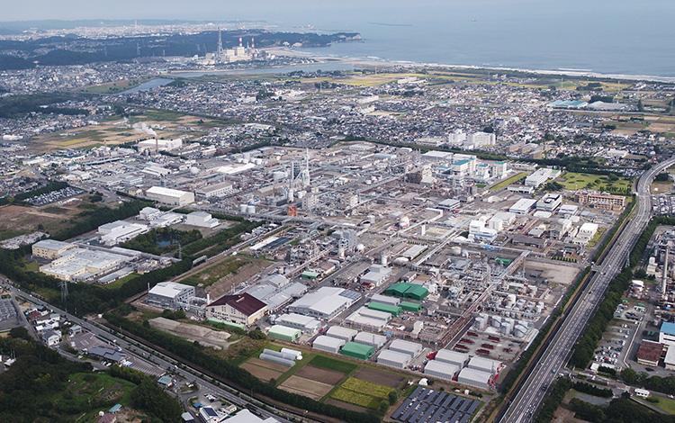 KUREHA Company Iwaki Factory